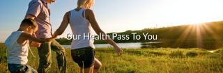 health-pass-background